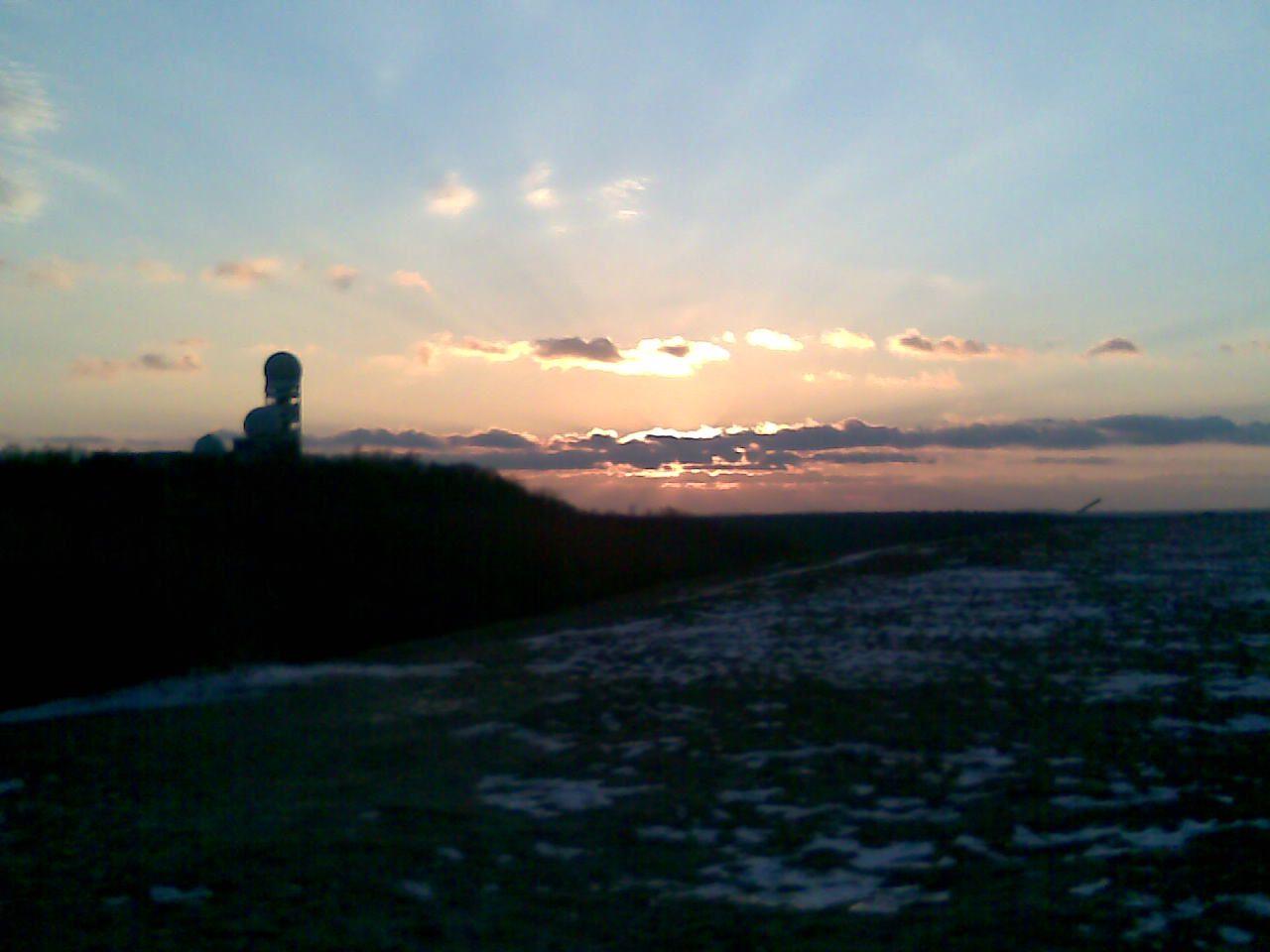 Sonnenuntergang Teufelsberg