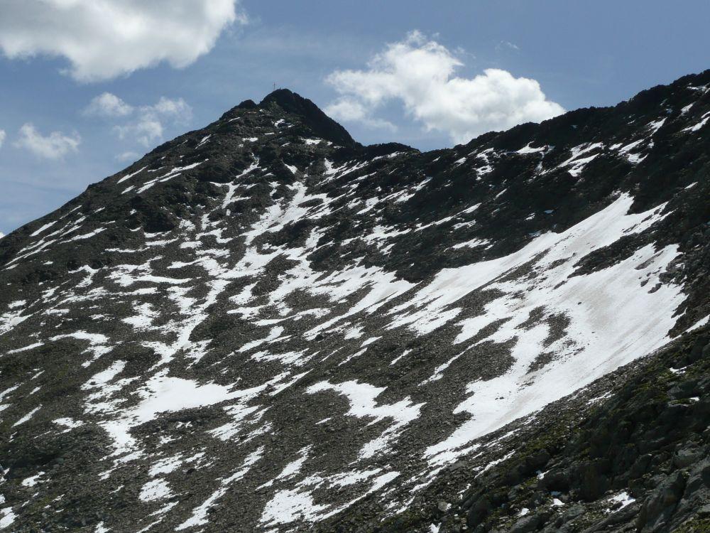 Bald ist der Gipfel des Rietzer Grieskogel erreicht