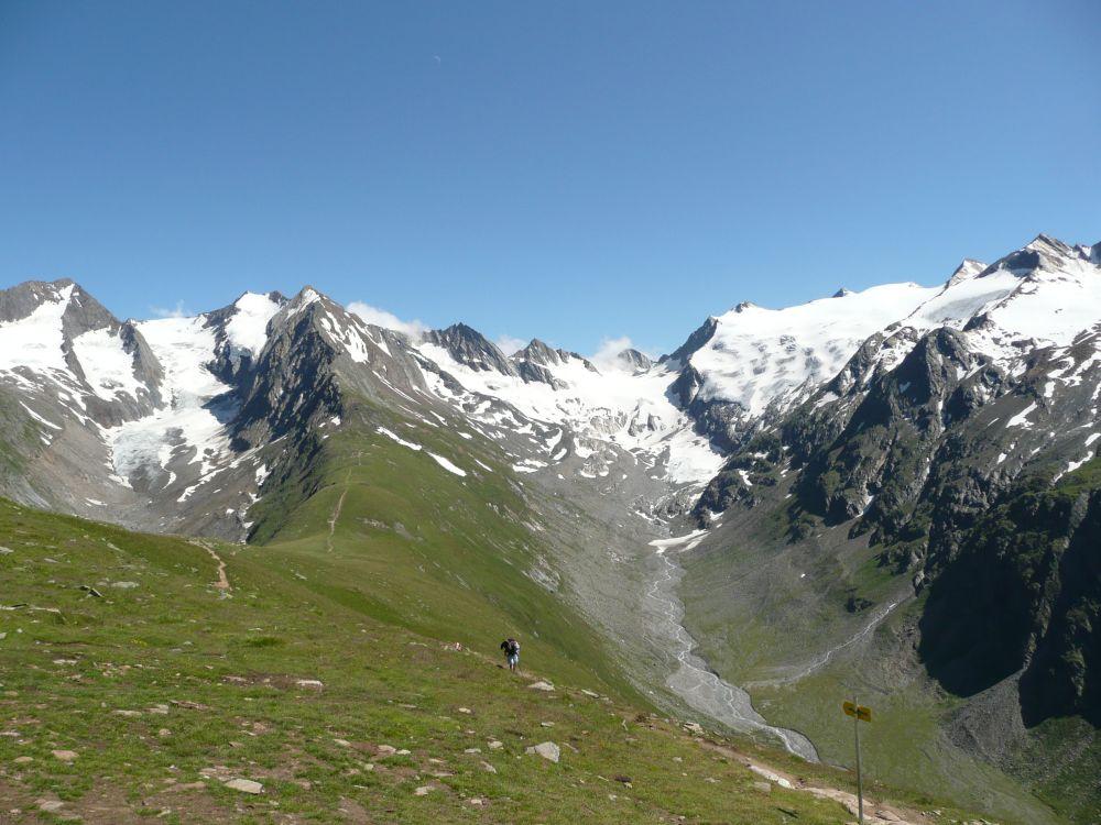 Gletscherrunde auf der Hohen Muth Alm.